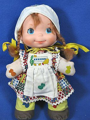 Vintage Mattel 1974 Nellie Love Notes Musical Squeeze Doll