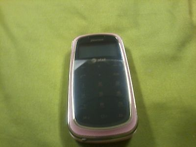 Pantech Aria P7000 Impact Cell Pink Qwerty flip, camera, AT&T, Bluetooth Enabled