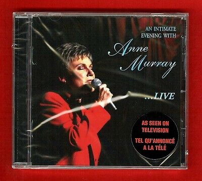 AN INTIMATE EVENING WITH ANNE MURRAY...LIVE 1998 CD HDCD (13 tracks) New, Sealed