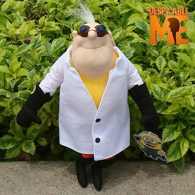 "Despicable Me 2 Plush Toy Doctor Nefario 13"" Cuddly Lovely Stuffed Animal Doll"