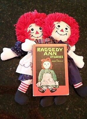 RAGGEDY ANN + ANDY PUPPETS AND RAGGEDY ANN STORIES BOOK