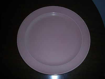 """GREAT T.S. & T. CO. LURAY SHARON PINK 9 1/4"""" DINNER PLATE 1942"""