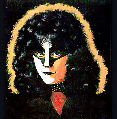 RARE! KISS SOLO ALBUM ART FROM ORIGINAL 1980 UNMASKED PAINTING, KISS ERIC CARR!