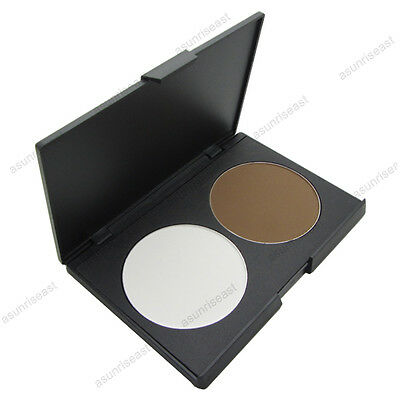Fashion Women Makeup Cosmetic Contour Shading Concealer Powder Palette 2 Colors