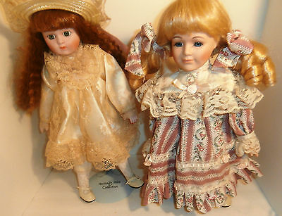 The Heritage Mint Ltd Collection Megan 1989 Plus One with Stands Lot of 2 Dolls