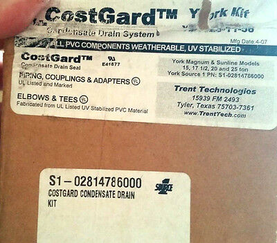 Costguard Condensate Drain Kit For York Rooftops Source1 P# S1-02814786000