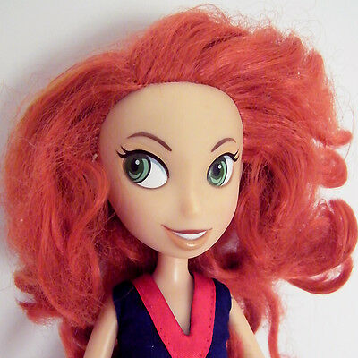"""Rare KIM POSSIBLE in CHEERLEADER Outfit Our Family Tree 10"""" Disney Doll!"""