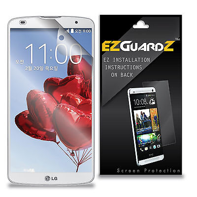 3X EZguardz LCD Screen Protector Guard HD 3X For LG G Pro 2 (Ultra Clear)