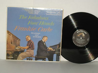 FRANKIE CARLE The Fabulous Four Hands LPM2288 Who's Sorry Now? Farewell Blues