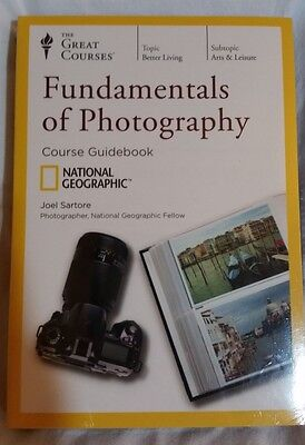 Fundamentals of Photography DVD New Sealed Great Courses National Geographic NEW