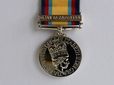 Medals - Gulf War Medal 1990-91 + Clasp - Full Size