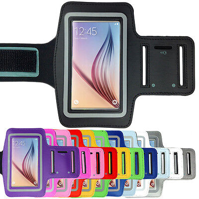 Sports Gym Running Exercise Armband Arm Band for Samsung Galaxy S6 + S6 EDGE