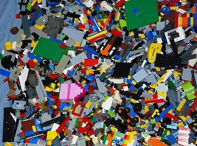 500+ assorted Lego Blocks,Bricks,Kit Pieces,Accessories WASHED&SANITIZED Lot#P14