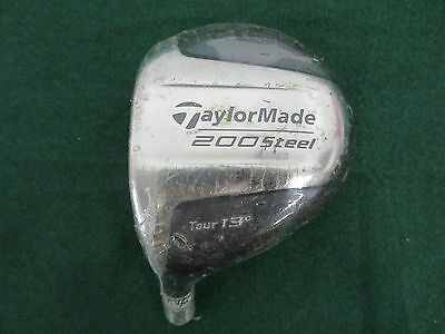 TOUR ISSUE* LH* TaylorMade 200 Steel Tour 12.9* 3 Wood Head ... #8019