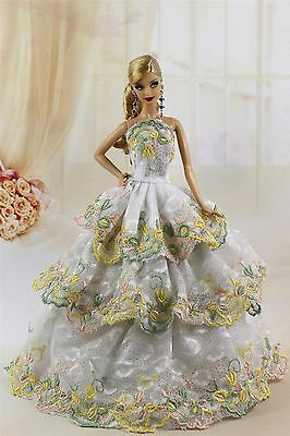 Fashion Princess Party Dress/Evening Clothes/Gown For Barbie Doll S199P