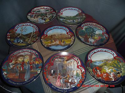 COMPLETE SERIES (8) THE WALTZES of JOHANN STRAUSS Limited Collectors Plates COA