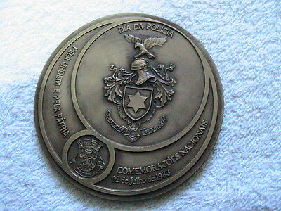 day of the Portuguese public security police July 2, 1983  bronze medal