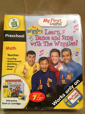 The WIGGLES Leap Frog My 1st Leap Pa Preschool Math Interactive set