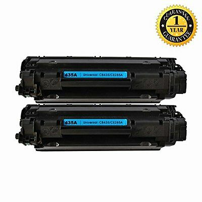 2 Pack GlobalToner Compatible HP CE285A/CB435A Toner Cartridge for use with HP L
