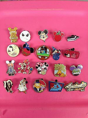 Disney Trading Pin Lot 40, No Duplicates 100% Tradable Grab Bag #1.17 RTQ