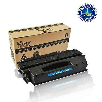 V4INK Q7553X Toner Cartridge For HP 53X LaserJet P2015 P2015DN M2727 M2727NF MFP
