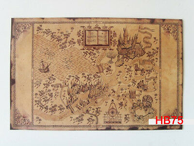21''x13'' Vintage Wizarding World of Harry Potter Paper Poster Wall Art Decor