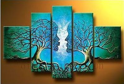 MODERN ABSTRACT HUGE CANVAS ART OIL PAINTING (no framed) 82