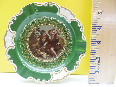 Antique Mittenteich Bavarian Victorian Display Plate Made In Germany
