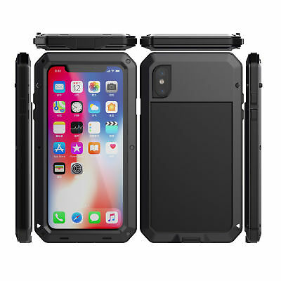 Waterproof Shockproof Aluminum Gorilla Metal Cover Case for iPhone 6S Plus X XS