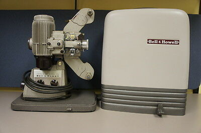 Bell & Howell 16mm Movie Projector Model 173 with case Vintage