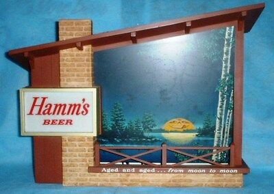 HAMM'S BEER MOTION SIGN AGED & AGED FROM MOON TO MOON