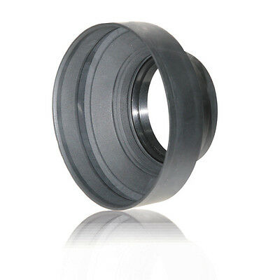 AGFA 55mm Heavy Duty Rubber Lens Hood APSLH55