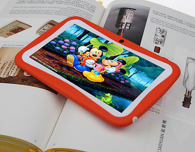 """New Orange 7"""" Google Android 4.2 Mid Tablet PC For Children Rockchip 1.0GHz Wifi"""