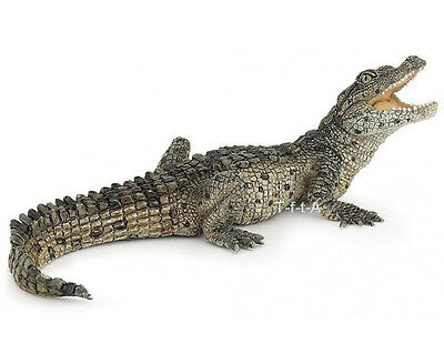 FREE SHIPPING | Papo 50137 Baby Crocodile Toy Wildlife Replica - New in Package