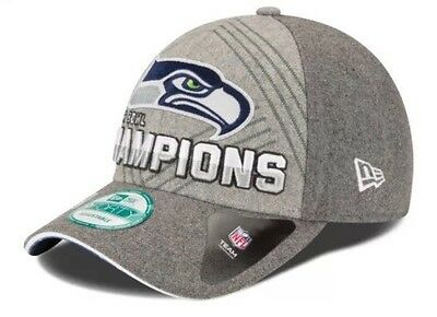 New Era Seattle Seahawks Super Bowl Champions 9FORTY Trophy Collection Hat Cap
