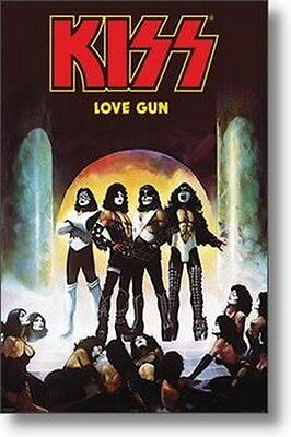 KISS POSTER Love Gun RARE NEW HOT 24X36 - PRINT IMAGE PHOTO -VW0