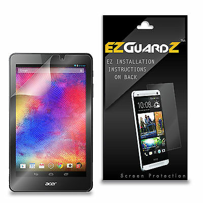 2X EZguardz LCD Screen Protector Skin Cover HD 2X For Acer Iconia B1-810 Tablet
