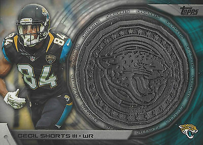 2014 Topps Cecil Shorts III NFL Kickoff Coin #NFLKC-CS - L2014-CS-2