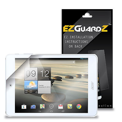 2X EZguardz LCD Screen Protector Skin Cover HD 2X For Acer Iconia A1-830 (Clear)