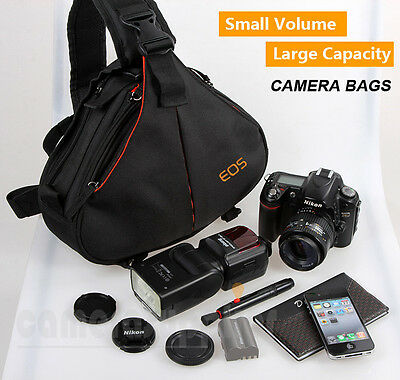 Casual DSLR Camera Bags Backpack Shoulder Bag For Nikon Sony Canon DSLR SLR