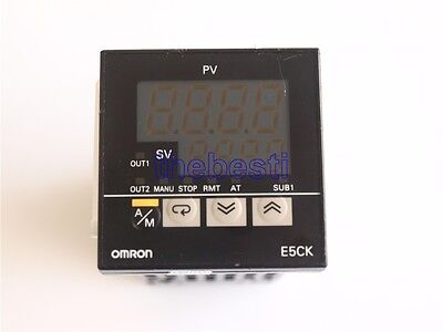 One Used Omron E5CK-AA1-500 Temperature Controller In Good Condition