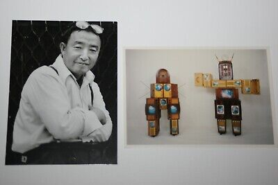 NAM JUNE PAIK:Family of Robot, 1986,  Kunst-Postkarte