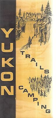 Vintage Brochure for Yukon Trails Camping Wales Wisconsin