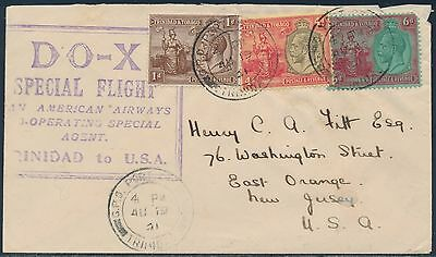 Do-X Special Flight Cover Trinidad To Usa Hv8816
