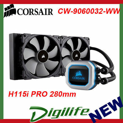 Corsair Hydro Series H115i 280mm Extreme Performance Liquid Water CPU Cooler