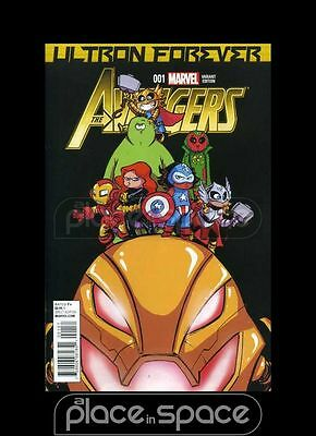 Avengers: Ultron Forever #1B - Skottie Young Variant
