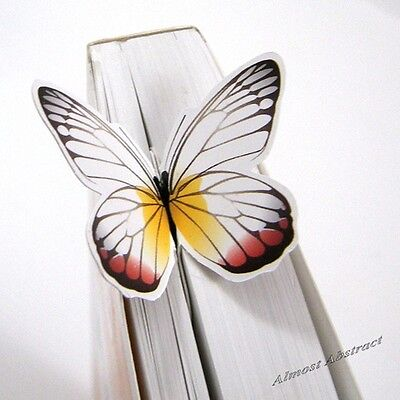 Stunning Butterfly Bookmark: Looks like it's sunning itself on your book ~ New