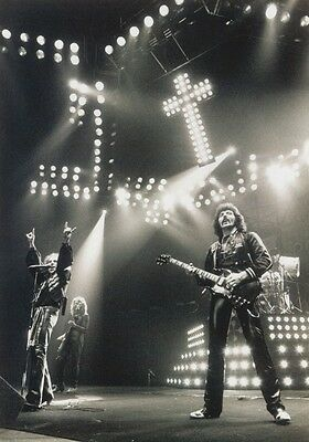 BLACK SABBATH Paranoid PHOTO Print POSTER Ozzy Osbourne Tony Iommi Shirt 002