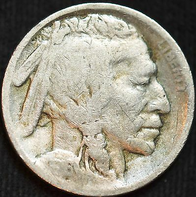 1916 S, Buffalo Nickel, Good Condition, Free Shipping in USA, C3446