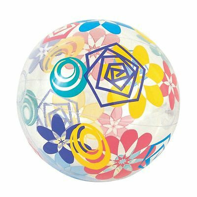Multicoloured Designer Beach Ball Inflatable Holiday Swimming Pool Party Design